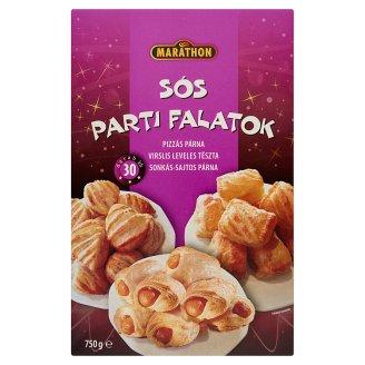 Marathon Sós Parti Falatok gyorsfagyasztott töltött leveles tészta válogatás 3 x 250 g