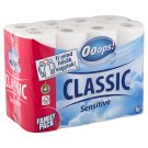 Ooops! Classic Sensitive Toilette Paper 3 Ply 24 Rolls