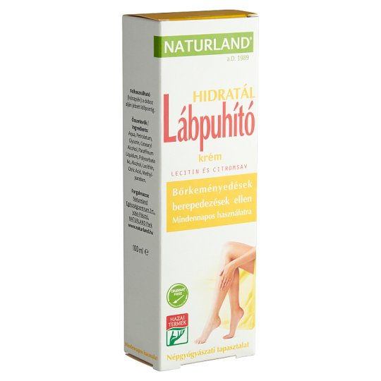 Naturland Feet Softening Cream 100 ml