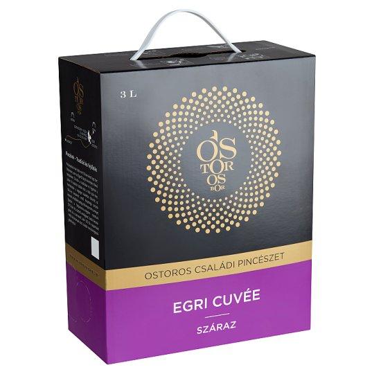 Ostorosbor Bag-In-Box Egri Cuvée Dry Red Wine 13% 3 l