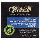 Helia-D Classic éjszakai ránctalanító krém minden bőrtípusra 50 ml