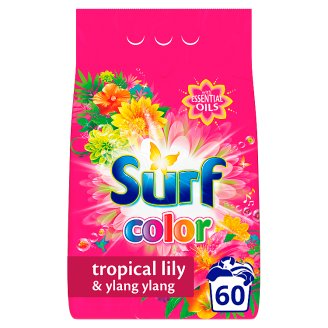 SURF Tropical Lily & Ylang Ylang Powder Detergent 60 Washes 3,9 kg