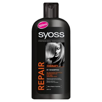 Syoss Repair Therapy Hair Shampoo for Dry, Damaged Hair 300 ml