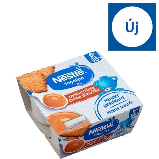 Nestlé Yogolino kekszes babapuding 6 hónapos kortól 4 x 100 g