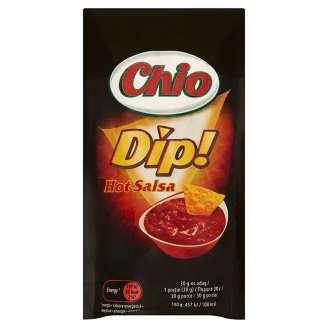 Chio Dip! Hot Salsa Hot Sauce with Tomato and Paprika 90 ml