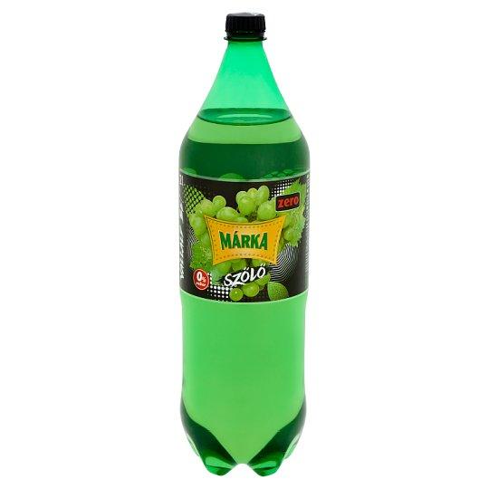 Márka Zero szőlő energiamentes szénsavas üdítőital édesítőszerekkel 2 l