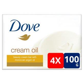 Dove Cream Oil Beauty Cream Bar 4 x 100 g