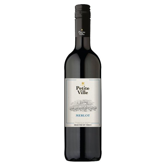 Petite Ville Merlot Pays d'Oc vörösbor 13% 750 ml