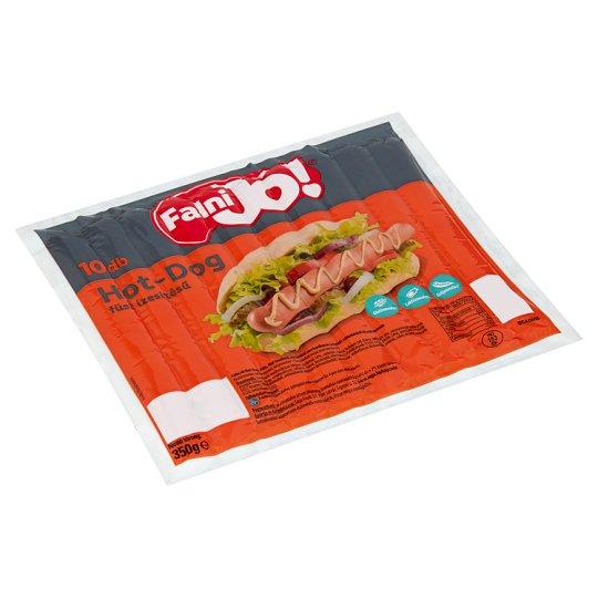 Falni Jó! füst ízesítésű hot-dog 350 g