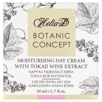 Helia-D Botanic Concept Tokaji Aszú Moisturising Cream for Dry and Extra Dry Skin 50 ml
