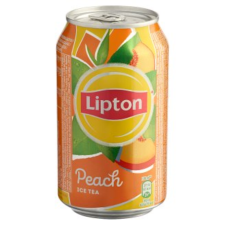 Lipton Ice Tea Peach Flavoured Non-Carbonated Soft Drink with Sugar and Sweetener 330 ml