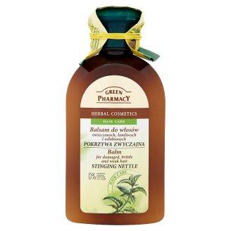 Green Pharmacy hajbalzsam erősen igénybevett, töredezett hajra 300 ml