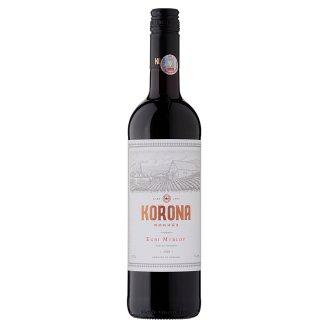 Egri Korona Borház Egri Merlot száraz vörösbor 13% 750 ml