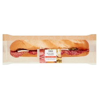 Tesco Baguette with Salami and Egg 198 g