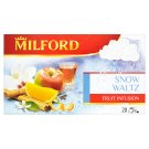 Milford Snow Waltz Flavoured Fruit Tea with Orange and Rum Taste 20 Tea Bags 50 g