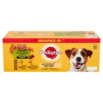 Pedigree Vital Protection Complete Pet Food for Adult Dogs in Aspic 12 x 100 g