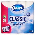 Ooops! Classic Sensitive Toilette Paper 3 Ply 32 Rolls