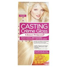 image 1 of L'Oréal Paris Casting Crème Gloss Glossy Princess 1021 Coco Meringue Permanent Hair Colorant
