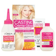 image 2 of L'Oréal Paris Casting Crème Gloss Glossy Princess 1021 Coco Meringue Permanent Hair Colorant
