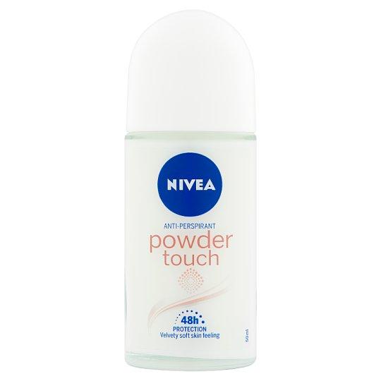 NIVEA Powder Touch Anti-Perspirant Roll-On Deodorant 50 ml