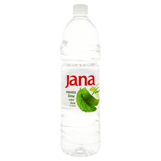 Jana Non Carbonated Drink with Mint-Lime Flavour 1,5 l