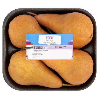 Tesco Pears 4 pcs