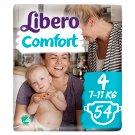 Libero Comfort 4 7-11 kg prémium pelenkanadrág 54 db