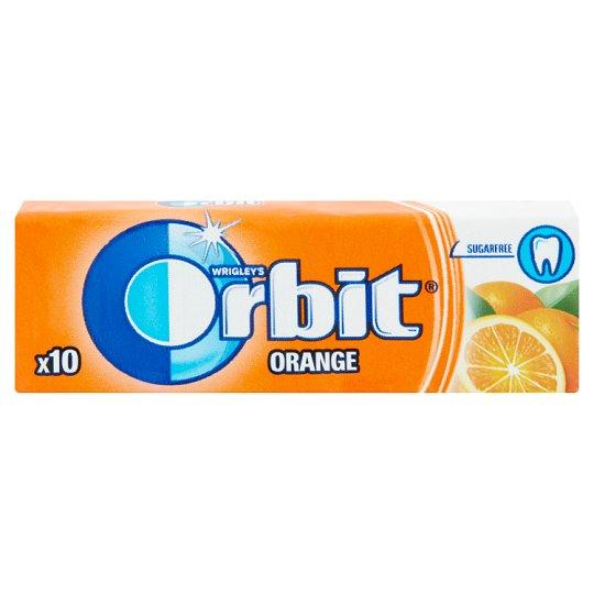 Wrigley's Orbit Orange Chewing Gum with Orange Flavour 14 g