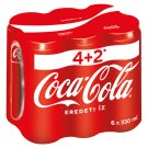 Coca-Cola Carbonated Soft Drink 6 x 330 ml