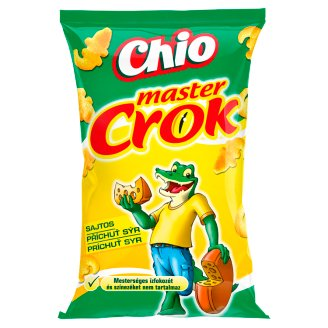 Chio Master Crok Cheese Flavoured Corn Snack 40 g