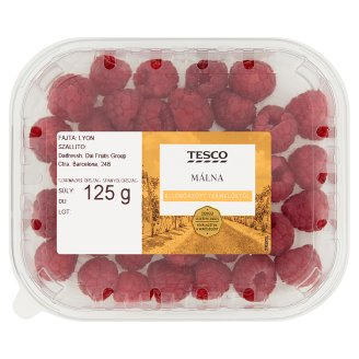 Tesco Raspberries 125 g