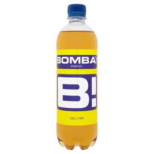 BOMBA! magas koffeintartalmú, szénsavas, tutti-frutti ízű ital cukorral és édesítőszerrel 600 ml