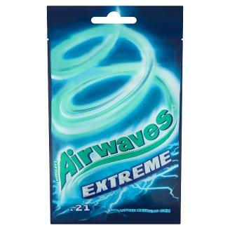 Airwaves Extreme mentol- és eukaliptuszízű cukormentes rágógumi 21 db 29 g