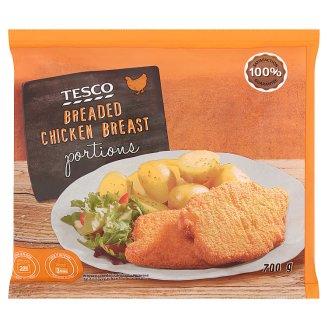 Tesco gyorsfagyasztott panírozott csirkemell szelet 700 g