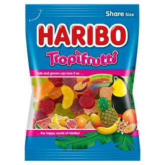 Haribo Tropifrutti gyümölcsízű gumicukorka 200 g