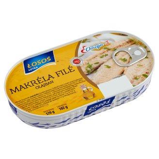 Losos Mackerel Fillets in Vegetable Oil 170 g