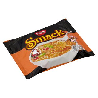 Nissin Smack Instant Noodle Soup with Hot Chicken Flavour 100 g