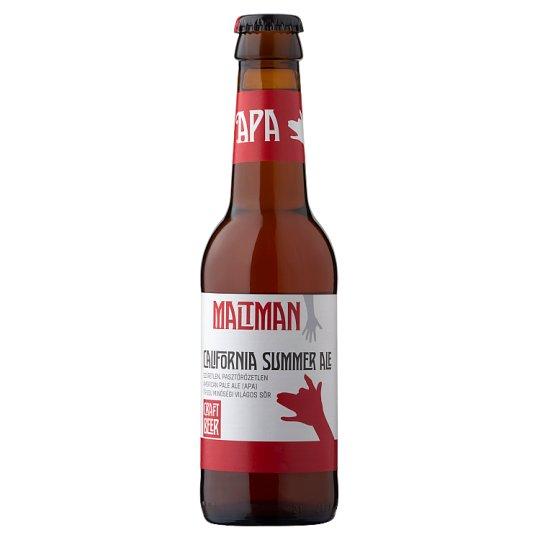 Maltman California Summer Ale szűretlen APA típusú minőségi világos sör 5,2% 0,25 l
