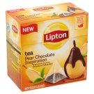 Lipton Chocolate Pear Flavoured Black Tea 20 Pyramid Tea Bags