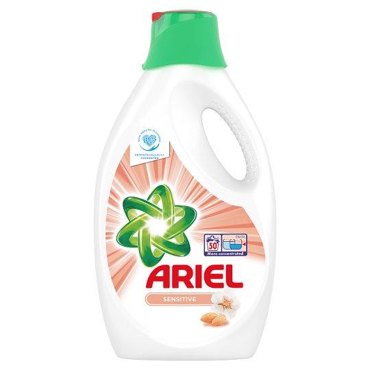 Ariel Sensitive Folyékony Mosószer, 2,75 l, 50 Mosáshoz