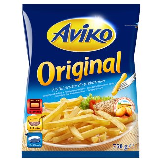 Aviko Original Pre-Fried and Quick-Frozen Straight Cut Oven Fries 750 g