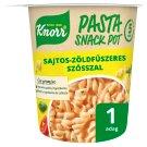 Knorr Pasta Snack tészta sajtos-zöldfűszeres szósszal 65 g