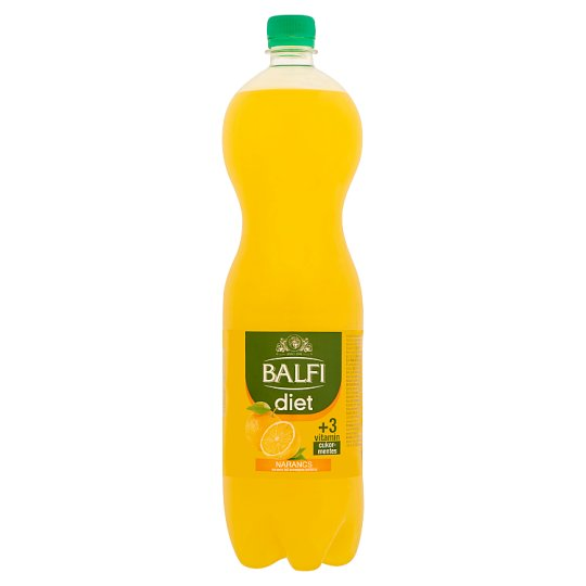 Balfi Diet Carbonated Orange Flavoured Soft Drink 1,5 l
