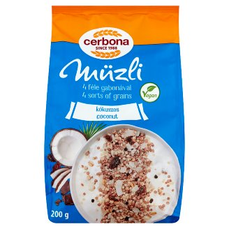 Cerbona Muesli with Coconut 200 g