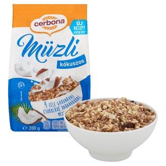 image 2 of Cerbona Muesli with Coconut 200 g