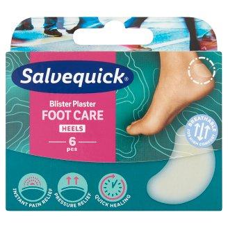 Salvequick Blister Plaster Foot Care Heels 6 pcs