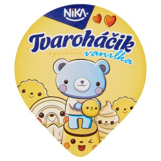 Nika Vanilla Cottage Cheese Cream for Kids 80 g