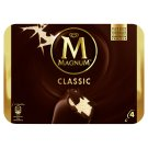 Magnum Classic Vanilla Ice Cream with Milk Chocolate Cover 4 pcs 440 ml
