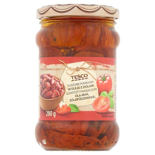 Tesco Dried Tomato in Oil with Herbs 280 g