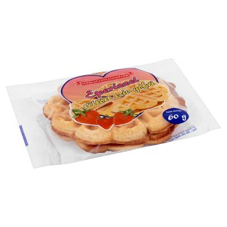 Jagdfeld Gofri Különlegességek Heart Waffles Filled with Strawberry Flavour 60 g